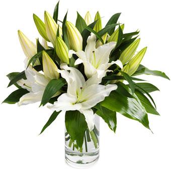 Troostboeket Witte lelies